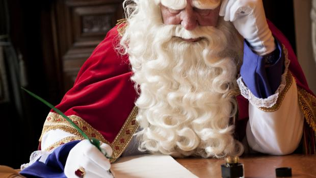 Sinterklaas in de stress